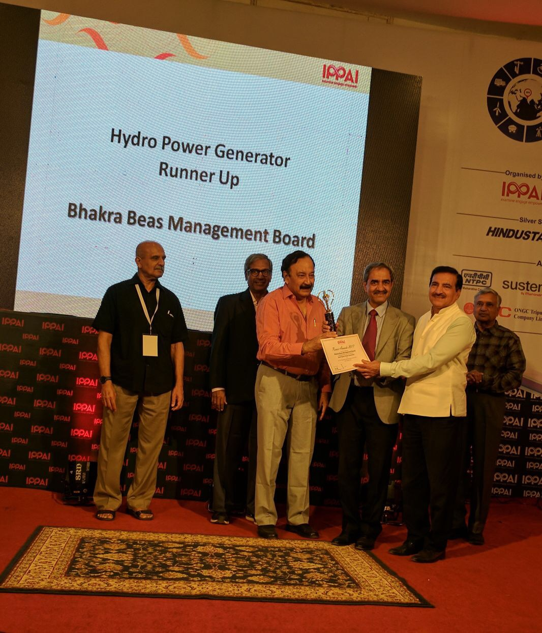 "BBMB receives 'Runner Up' award in the category of ""Best Generator"""