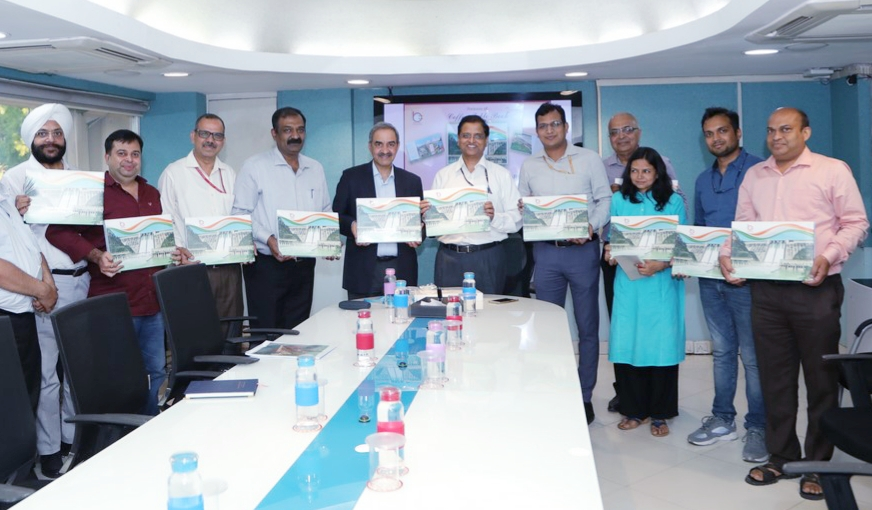 Secretary, Power, Govt. of India Releases BBMB's Coffee Table Book.