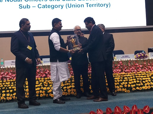 "BBMB Won 1st Prize for ""Best State Nodal Officer Category"" in National Level Painting Competition on ENERGY Conservation."