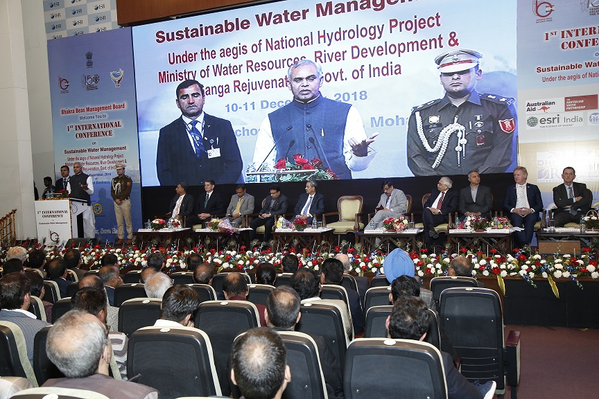 Ist International Conference on Sustainable Water Management Inaugurated