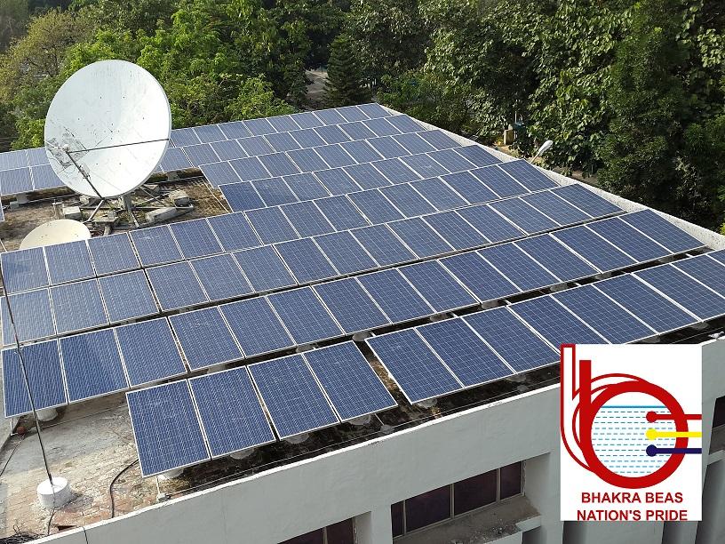 रूफ टॉप सौर ऊर्जा प्रणाली - बीबीएमबी की पहल