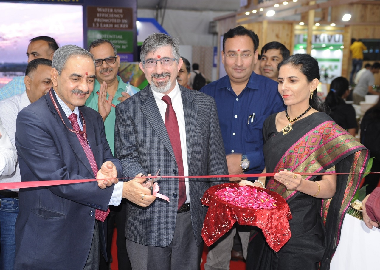 """BBMB Stall exhibited in """"6th India Water Week"""""""